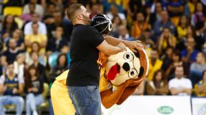 tito-canino-show-baloncesto-herbalife-gran-canaria